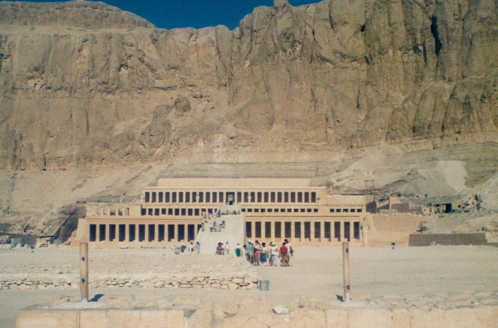 The Temple of Hatshepsut in Deir El Bahari