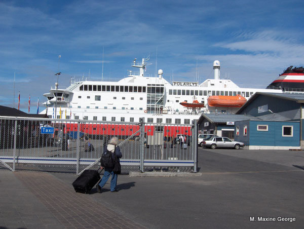 Polarlys, Norway, Coastal Cruise Arctic circle.