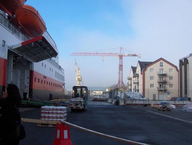 MS Polarlys, Harstad Harbour, Norway