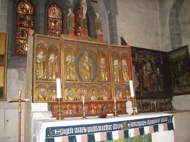 Harstad Kirke Altar