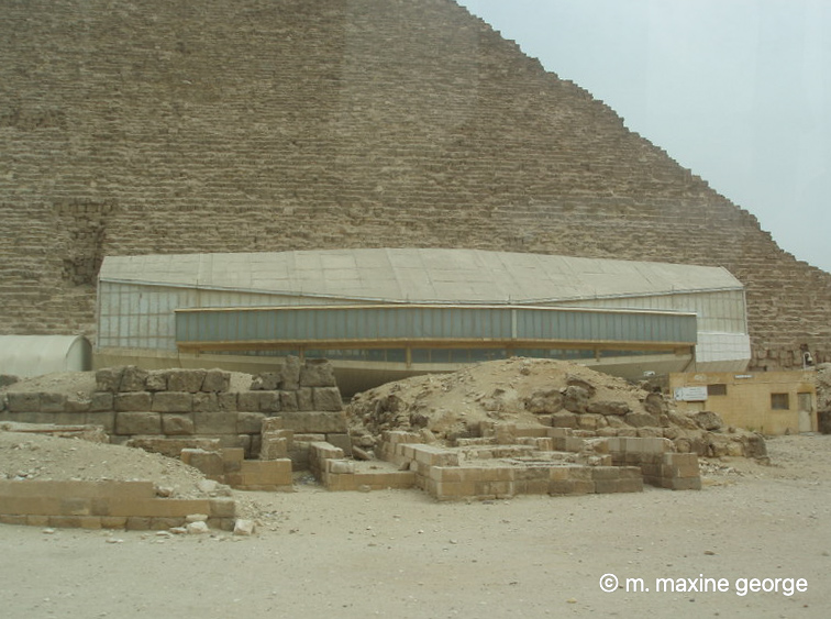 Solar boat museum Egypt Cairo
