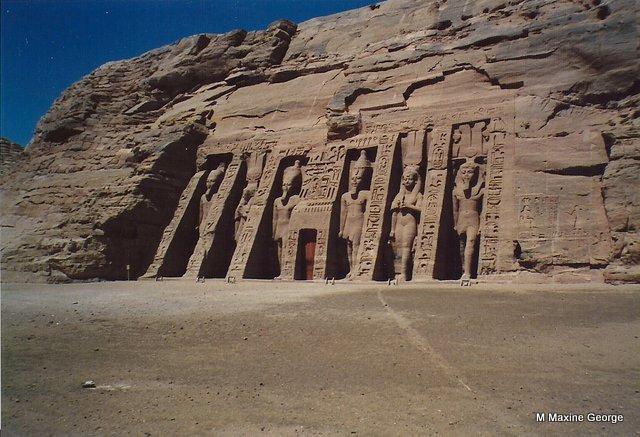 Nefertari's Temple of Hathor