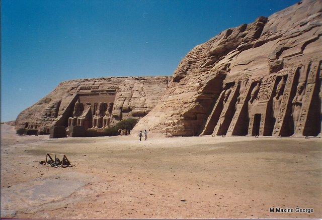 Temple of Ramses II and Nefertari Abu Simbel Egypt