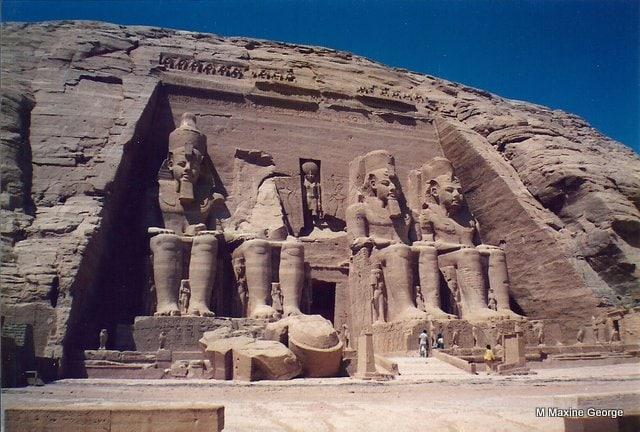 Temple of Ramses II Abu Simbel, Egypt