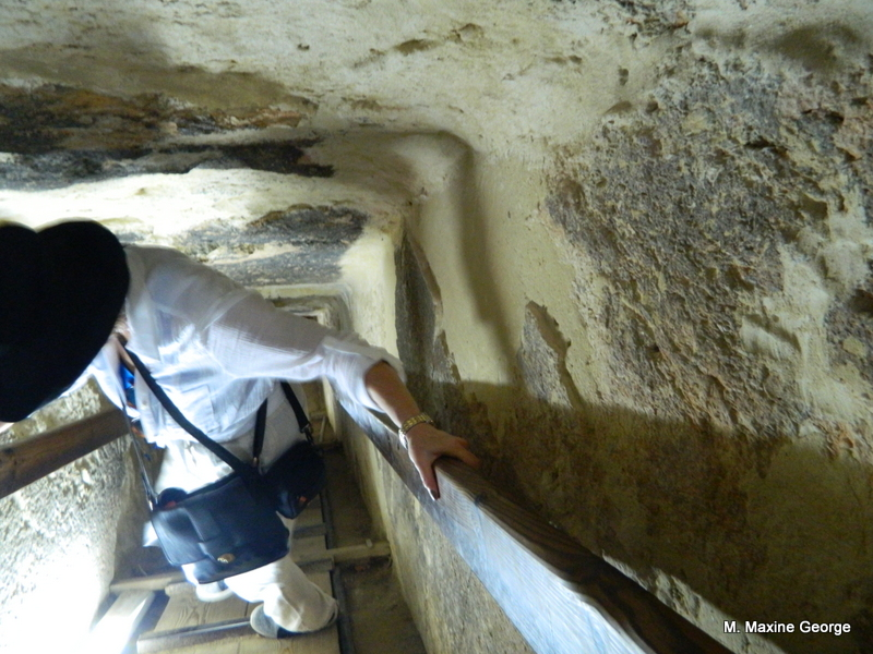 Working our way into the burial chamber of Khufu's mother, Hensutsen