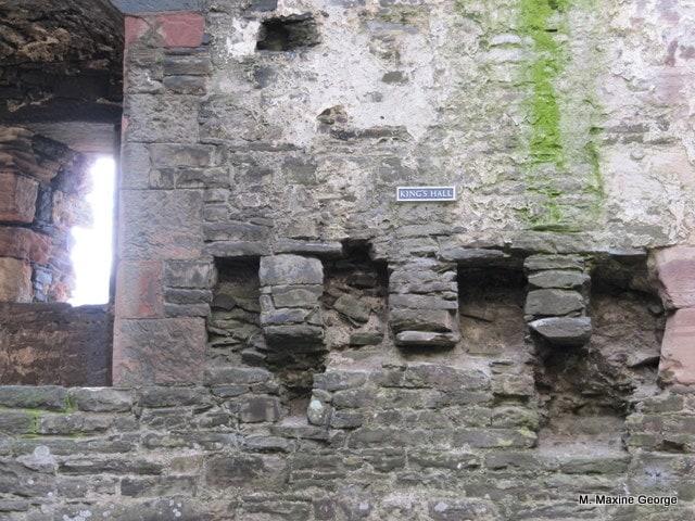 Kings Wall Conwy Castle, Wales