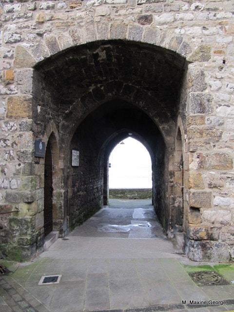 Part of the Gateway to Caernarfon