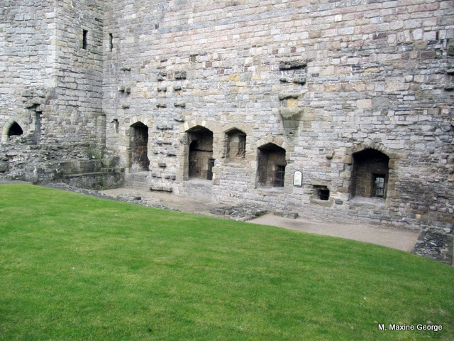Believed to have been the kitchen area for Caernarfon Castle.