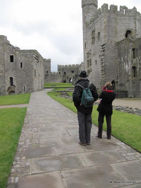 Canadians recording memories of Caernarfon Castle