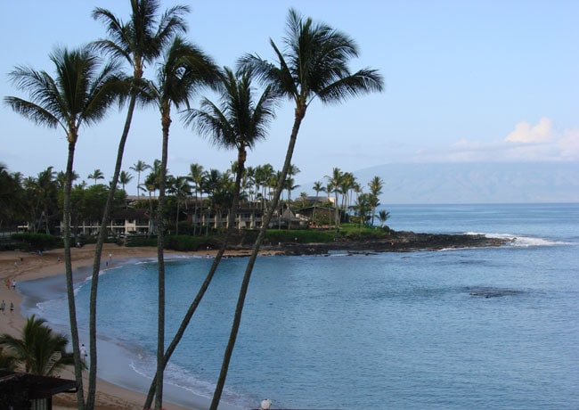 Beach at Napili Kai Beach Resort, Maui, Hawaii