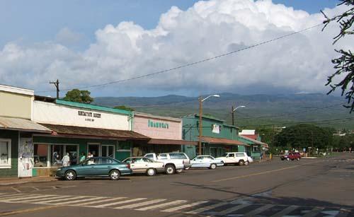 Kanemitsu Bakery and Coffee Shop, in downtown Kaunakakai.