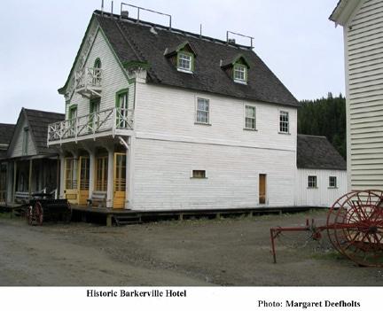 Historic Barkerville Hotel, B.C.
