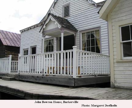 John Bowron House, Barkerville B.C.