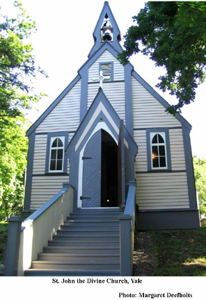 St. John the Devine Church, Yale B.C.