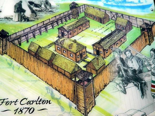 Louis Rîel - Fort Carlton