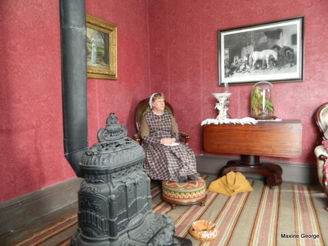 King's Landing, a living museum by the St. John River New Brusnwick