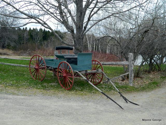 Kings Landing, Ingraham House, New Brunswick, cart