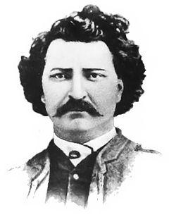 Portrait of Louis Rîel Riel