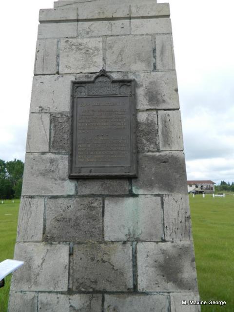 Duck Lake Battle Monument