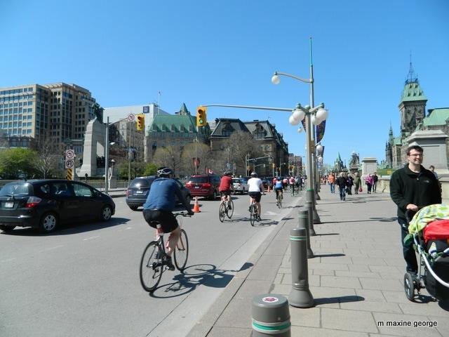 Tulip Festival, Ottawa bikes