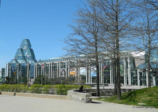 Ottawa Tulip Festival. Canada National Art Gallery
