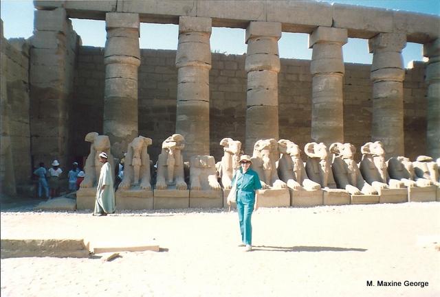 Karnak Temple Sphinx