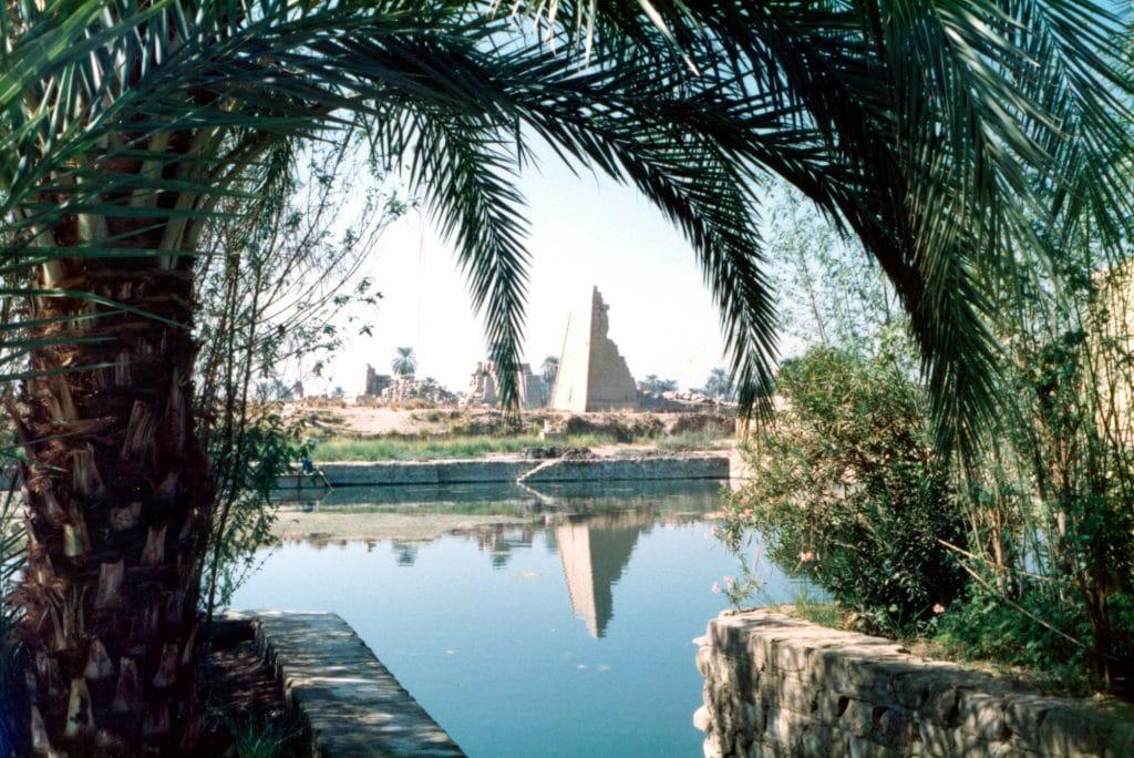 The Sacred Lake at Karnak Temple