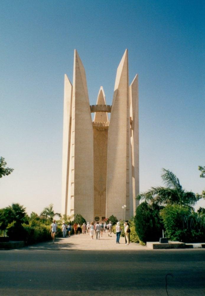 New Aswan Dam monument
