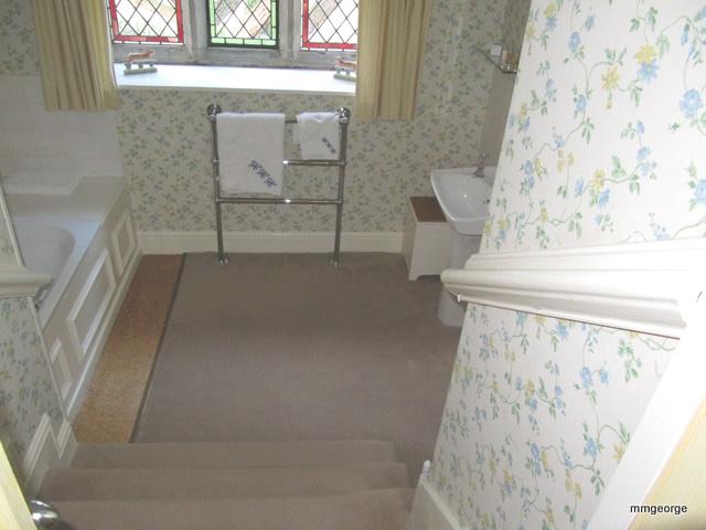 A beautiful room at Bodysgallen Hall, Llandudno, Wales Photo by M. Maxine George