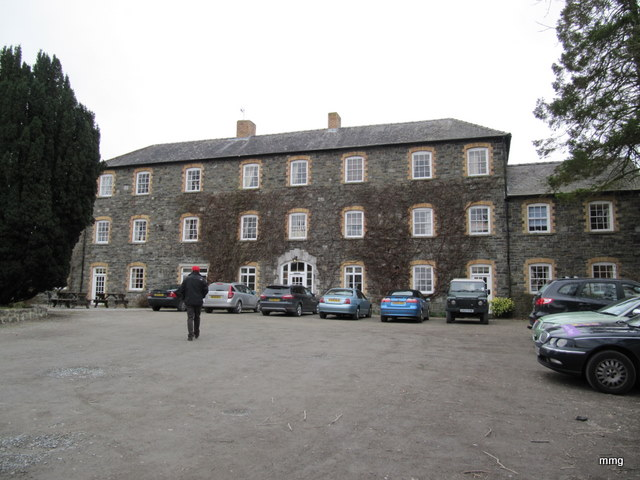 Brynafon Country House Hotel in Rhyader or The Old Workhouse. Photo by M. Maxine George