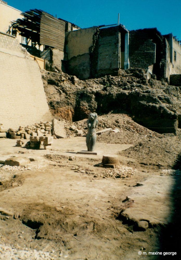 Temple at Esna dedicated to Khnum