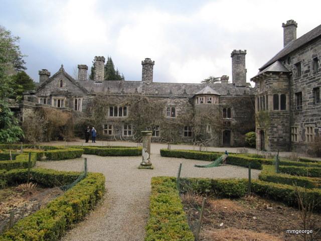 Gwydir Castle in March. Photo by M. Maxine George