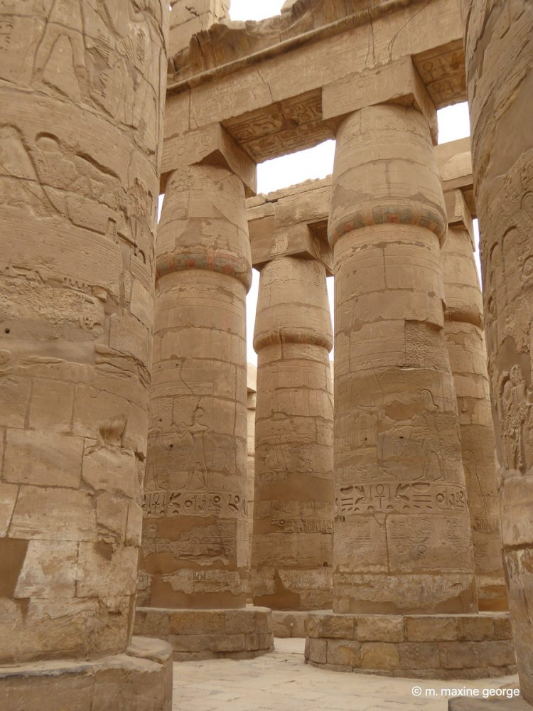 Hypostyle hall of Seti in Temple of Amun at Karnak