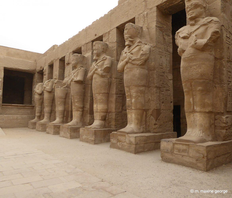 Status at Karnak Temple Luxor