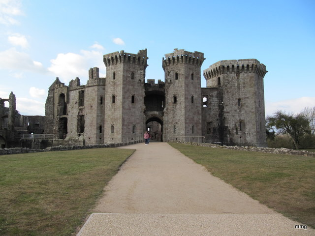 Raglan Castle. Photo by M. Maxine George