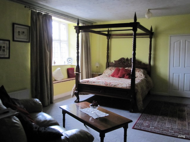 Room 2, the most haunted room at Skirrid Mountain Inn, Abergavenny. Photo by M. Maxine George