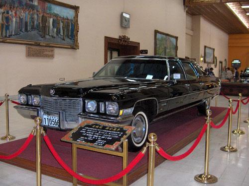 Generallisimo Chiang Kai Shek's Cadillac Limousine, Museum, Taipei, Taiwan