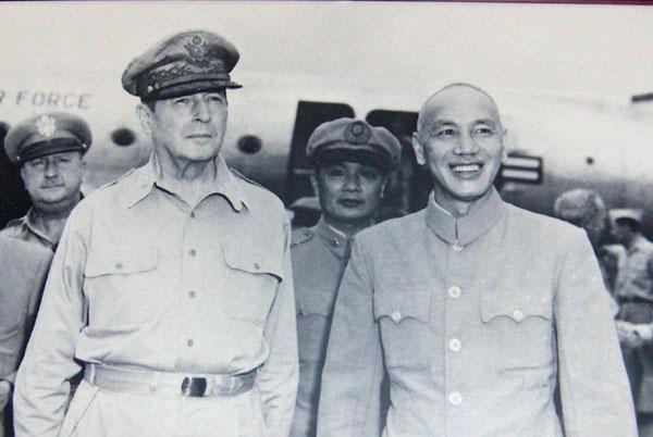 General Douglas MacArthur and Generallisimo Chiang Kai Shek