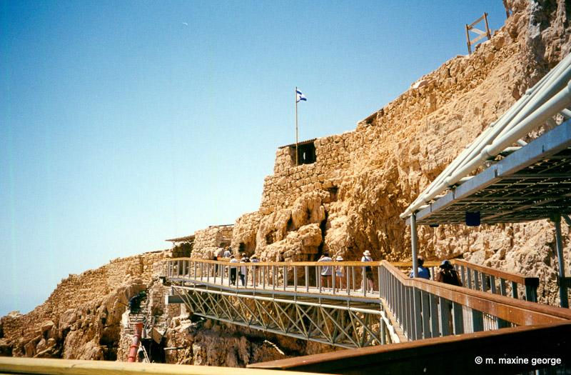 Pathway to Masada