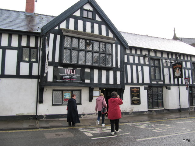 The Queens Head Hotel, Monmouth, Wales
