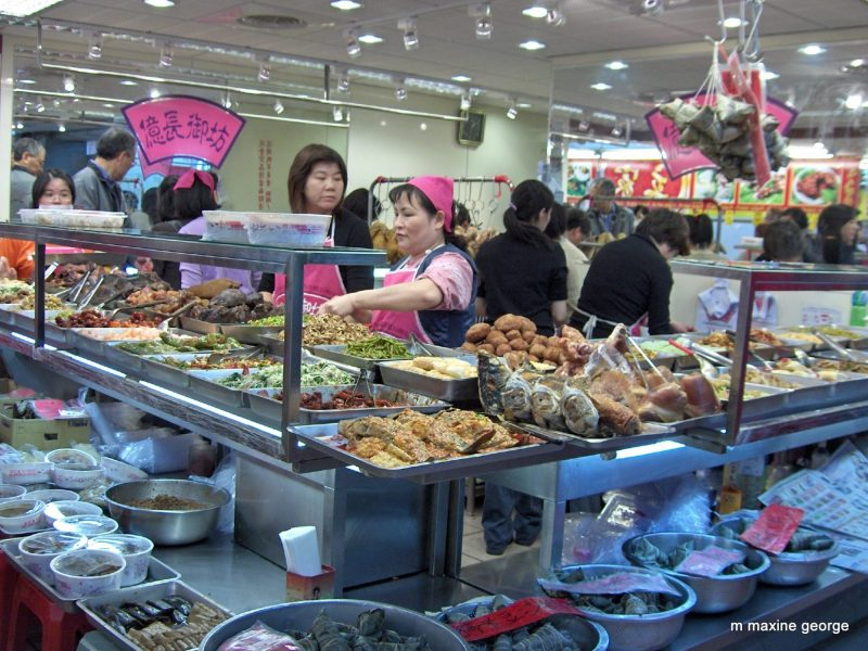 taste of orient, culinary adventure of the food in Taiwan. Market