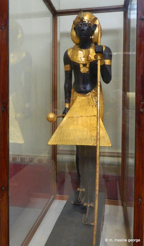The Ka of the King as seen at the Cairo Museum
