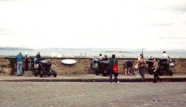 Cannons including Mons Meg
