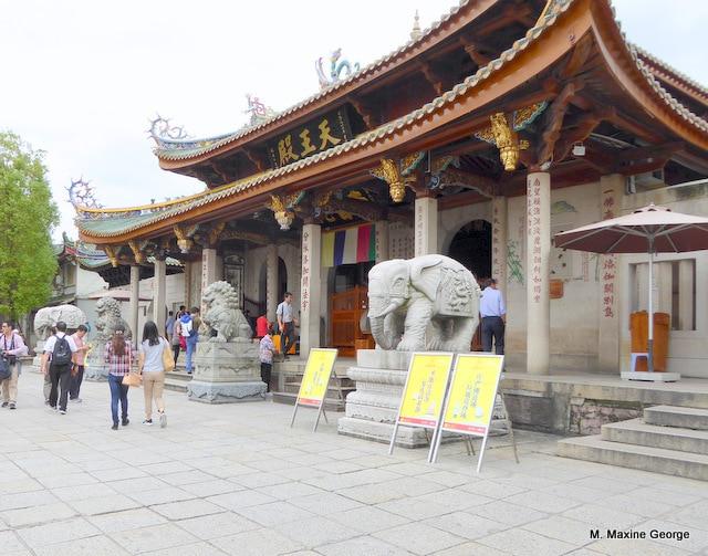 The Hall of the Heavenly Kings or Devajara Hall