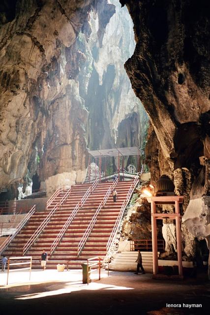 stairs in Batu Caves