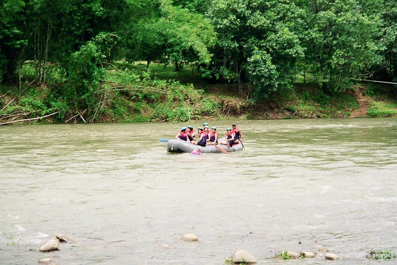 White Water Rafting Borneo Malaysia