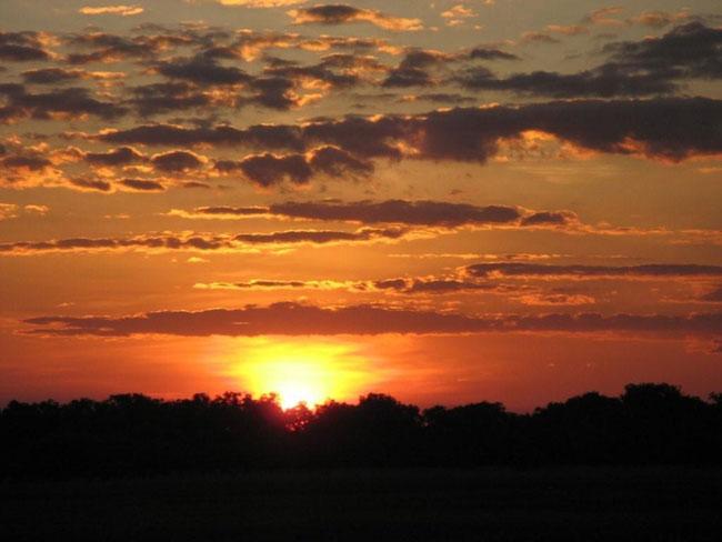 Sunset at Kakadu Australia.