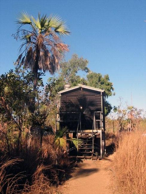 Communal toilet facilities at Imintji, Australia. Photo courtesy of Heather and Barry Minton