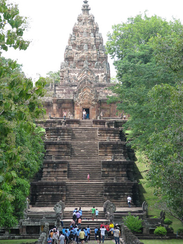 Khmer Temple, Phanom Rung Historic Park, Thailand.