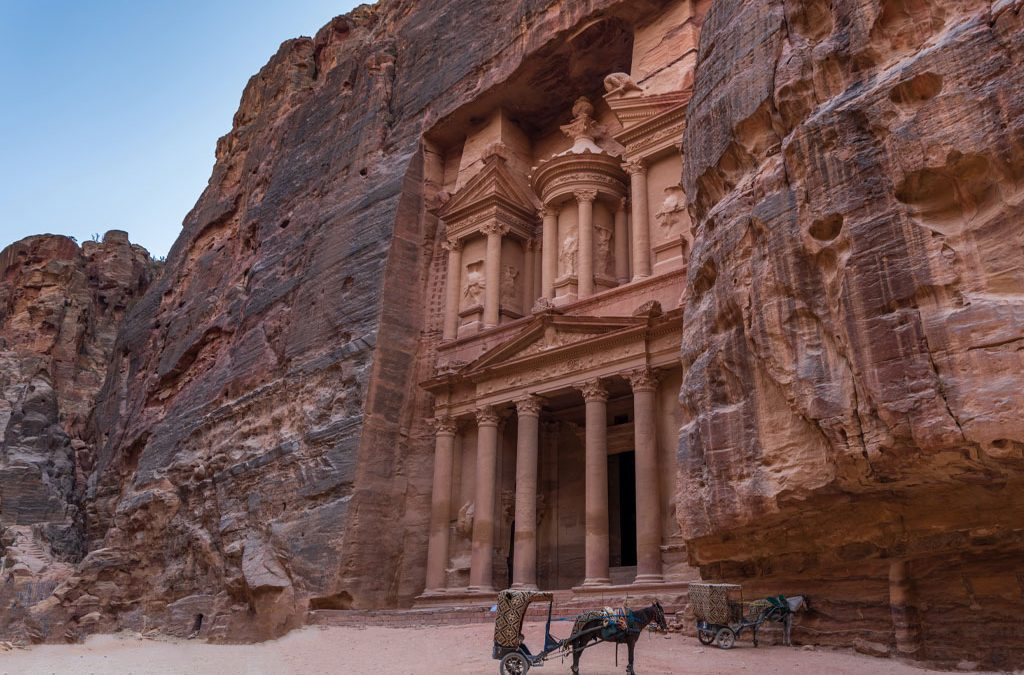 Petrified in Petra. Come with us to visit Petra, Jordan